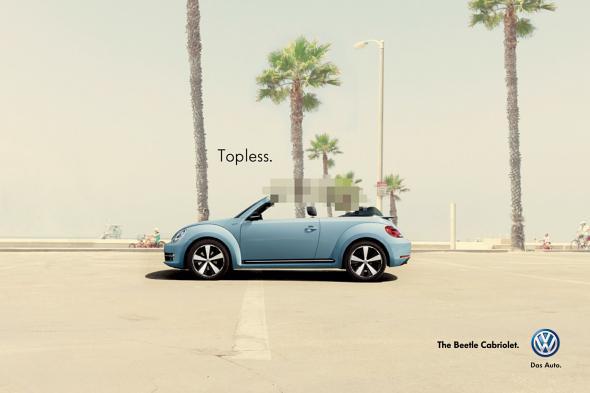 текстовая реклама автомобиля фольксваген
